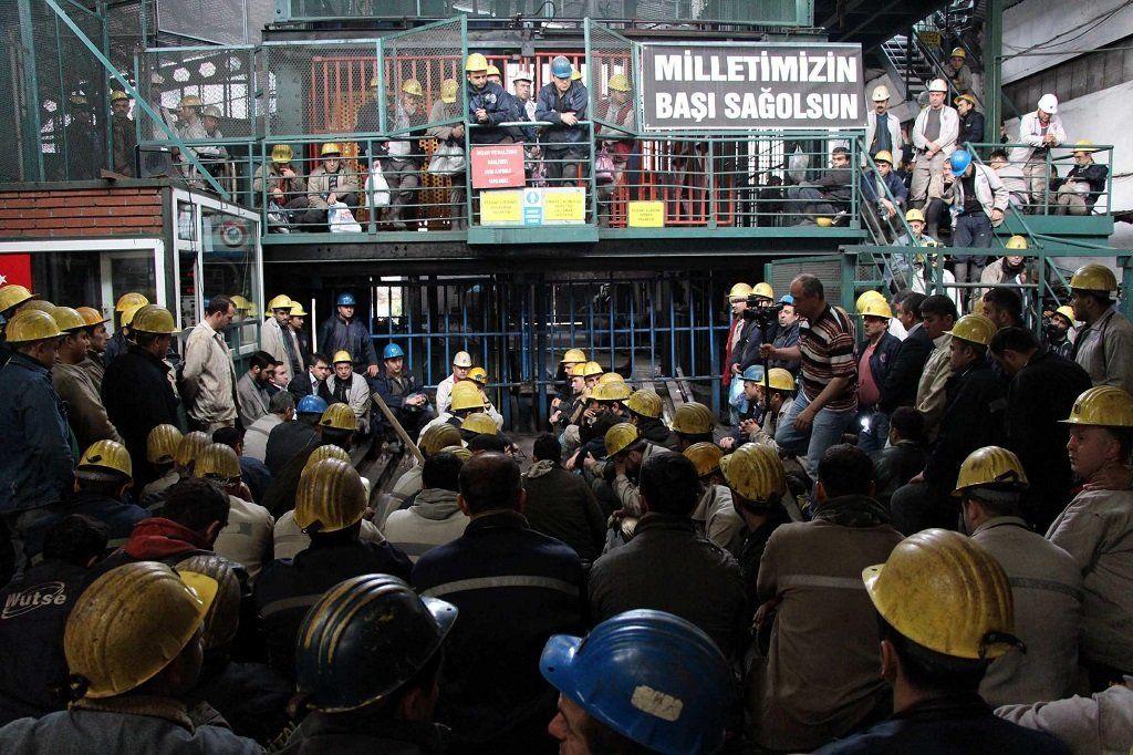 maden işçile