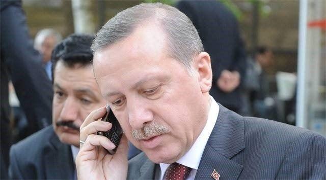 erdogan telefon