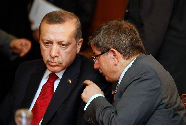 erdogan davutoglu