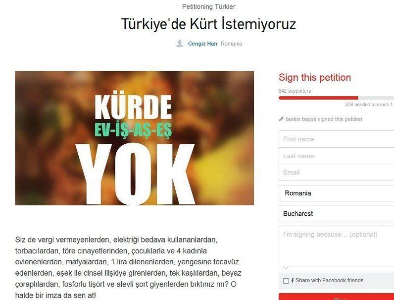 petitia impotriva kurzilor