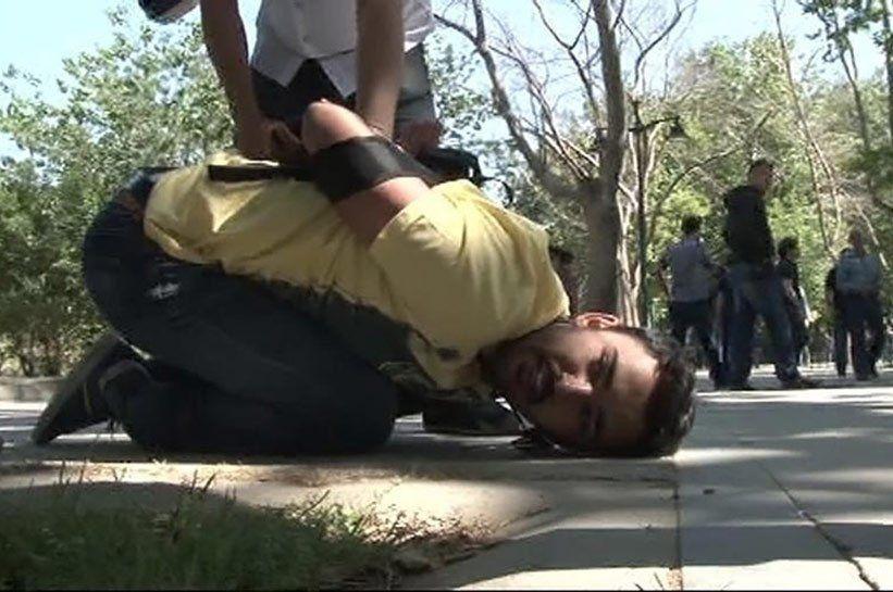 ziarist batut la Gezi Park