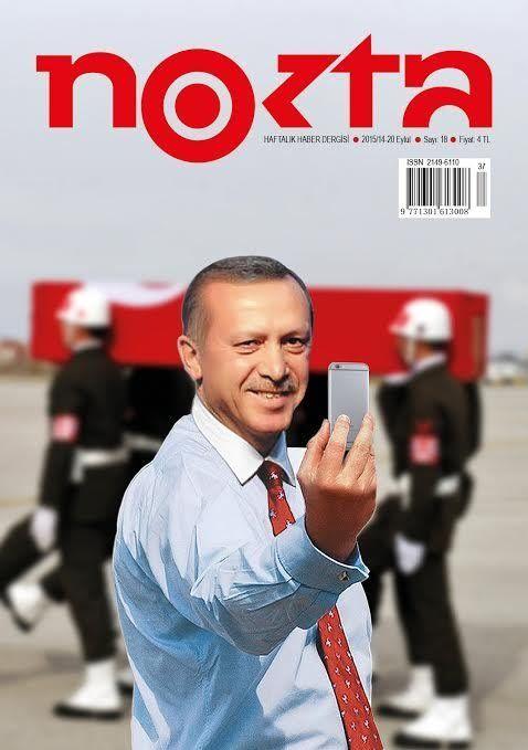 revista nokta erdogan selfie