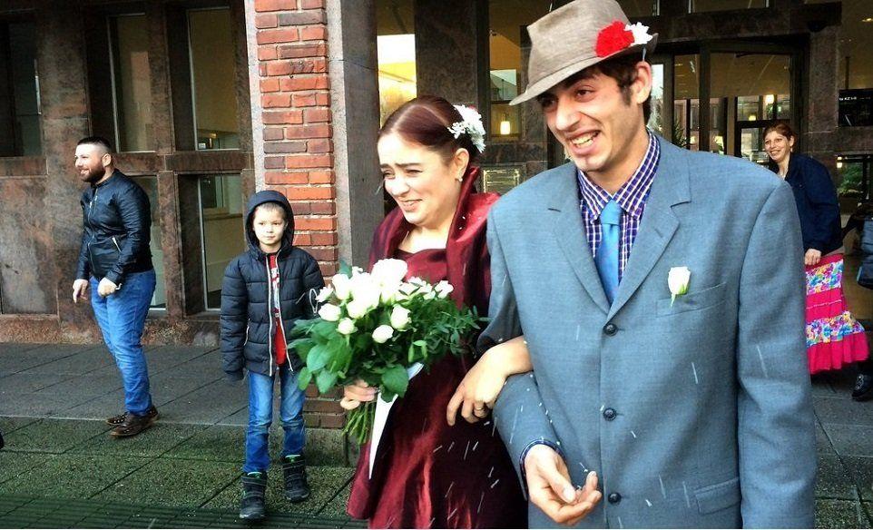Nunta anului in Suedia: Josefin Karlsson (37 ani) şi Florin Șerban (21 ani).
