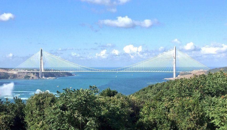 Turcia a inaugurat un nou pod peste Strâmtoarea Bosfor