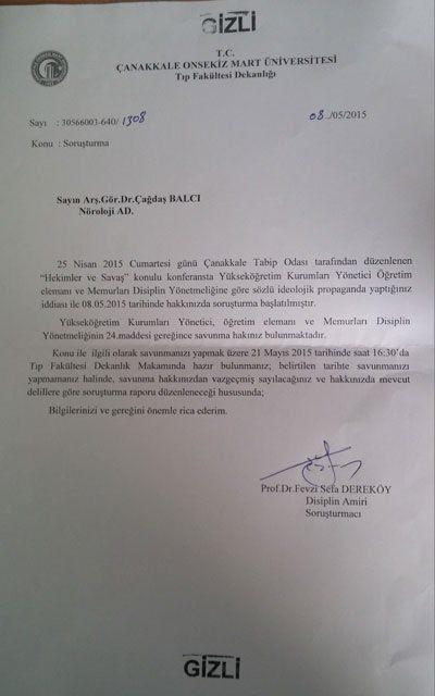Nu au mai rămas neurologi la Spitalul Universitar din Çanakkale
