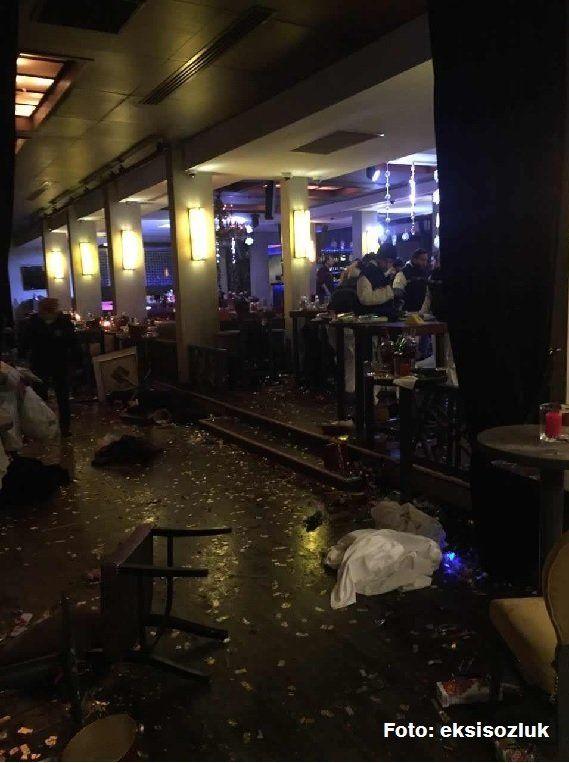 Atac armat într-un club din Istanbul: 39 morți, între care 16 străini