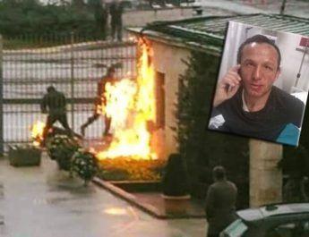 Muncitorul care şi-a dat foc în fata Parlamentului din Ankara a fost victima unui accident la locul de muncă