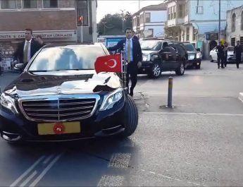 Lui Erdogan nu îi pasă de austeritate : încă 44 maşini pentru Preşedinţie